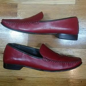 Cole Haan Leather Loafers-Size 9.5AA